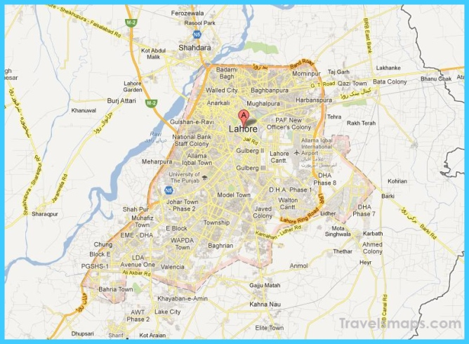 Where is Lahore Pakistan? | Lahore Pakistan Map | Map of