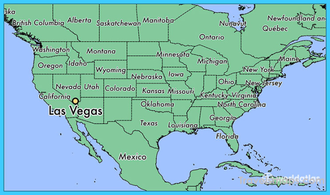 Where is Las Vegas? | Las Vegas Map | Map of Las Vegas