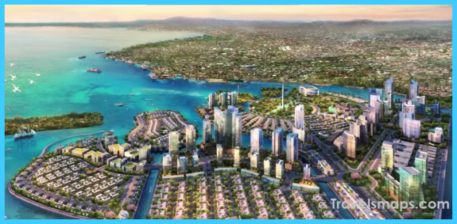 Royal Boskalis to construct five new islands for coastal city