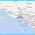 Malibu Photography Gallery Sites Map Of Malibu California Area ...