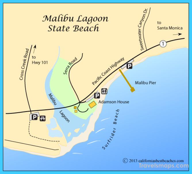 Malibu Lagoon & Surfrider Beach - California's Best Beaches
