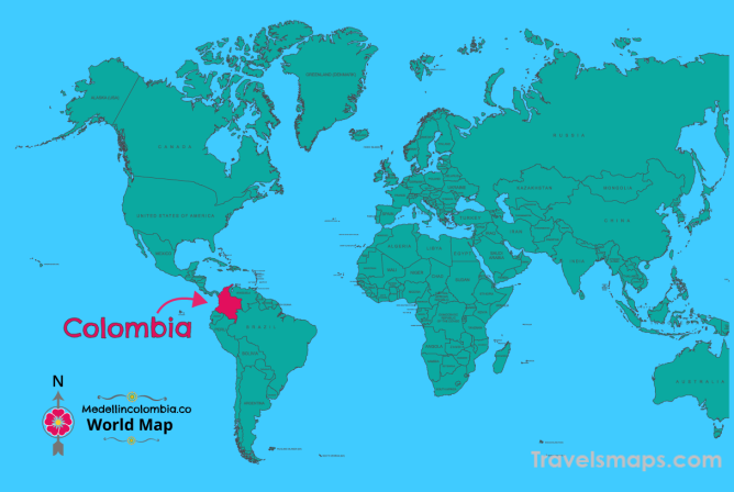Where is Medellin Colombia? | Medellin Colombia Map | Map of ...