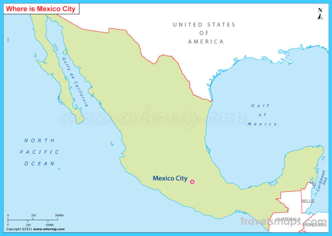 Where is Mexico City Mexico? - Mexico City Mexico Map - Map ...