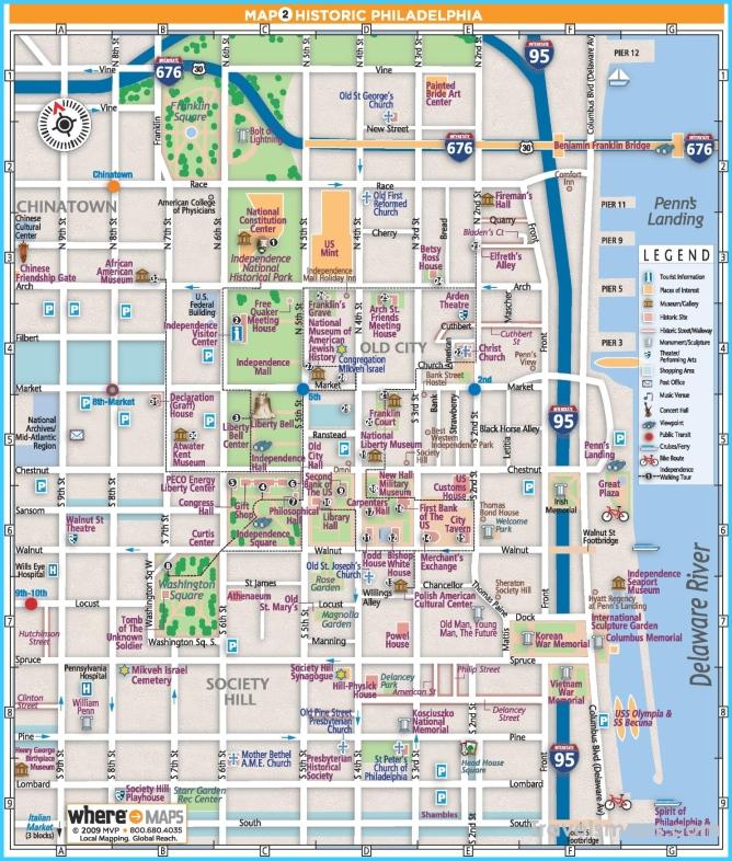 Where Is Philadelphia Philadelphia Map Map Of Philadelphia - Philadelphia-on-map-of-us
