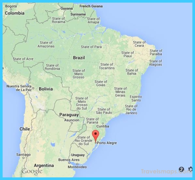 Where is Porto Alegre Brazil? | Porto Alegre Brazil Map | Map of Porto Alegre Brazil