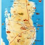 Where is Qatar?   Qatar Map   Map of Qatar - TravelsMaps.Com ®