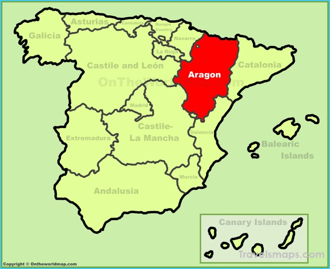 Where is Spain? | Spain Map | Map of Spain - TravelsMaps.Com ®