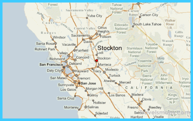 Where is Stockton? | Stockton Map | Map of Stockton