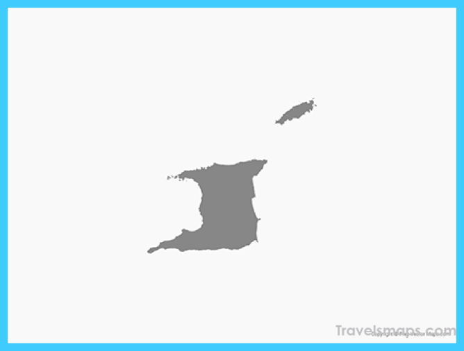 Vector Map of Trinidad and Tobago