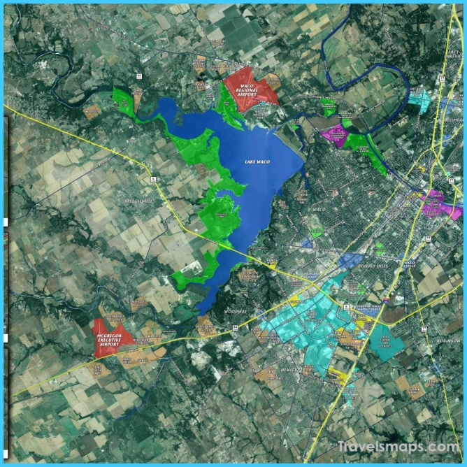 Where is Waco?   Waco Map   Map of Waco