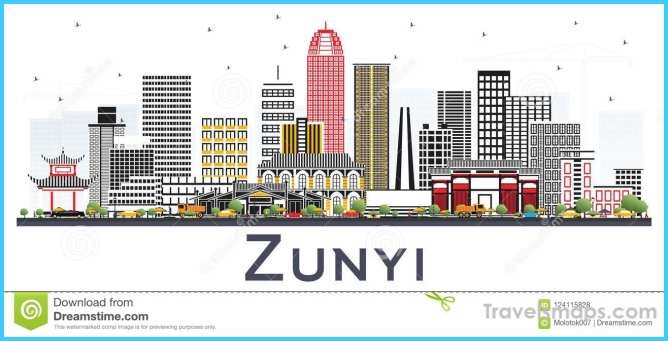 Where is Zunyi China? | Zunyi China Map | Map of Zunyi China