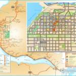 Anchorage tourist map