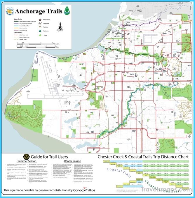 The Tony Knowles Coastal Trail/ Anchorage Coastal