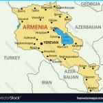 Republic of Armenia - map Royalty Free Vector Image