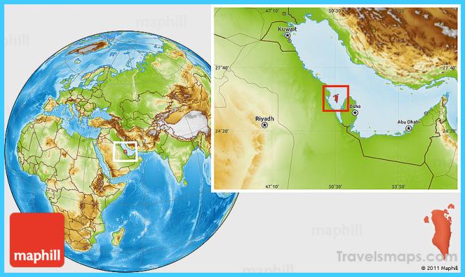 Where is Bahrain? - Bahrain Map - Map of Bahrain ...