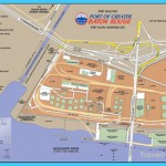 Port of Baton Rouge Louisiana Tourist Map - Baton Rouge