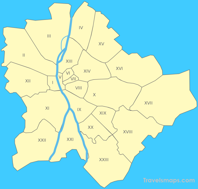 Where is Budapest Hungary? - Budapest Hungary Map - Map of Budapest ...