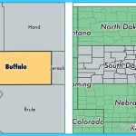 Buffalo County, South Dakota / Map of Buffalo County