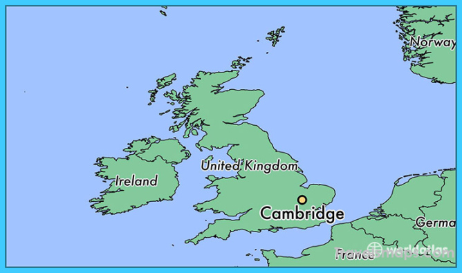 Where is Cambridge, England? / Cambridge, England Map