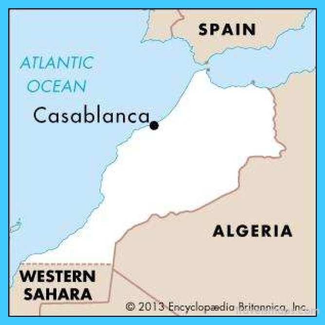 Casablanca Morocco Map Download Archives - TravelsMaps.Com ® on