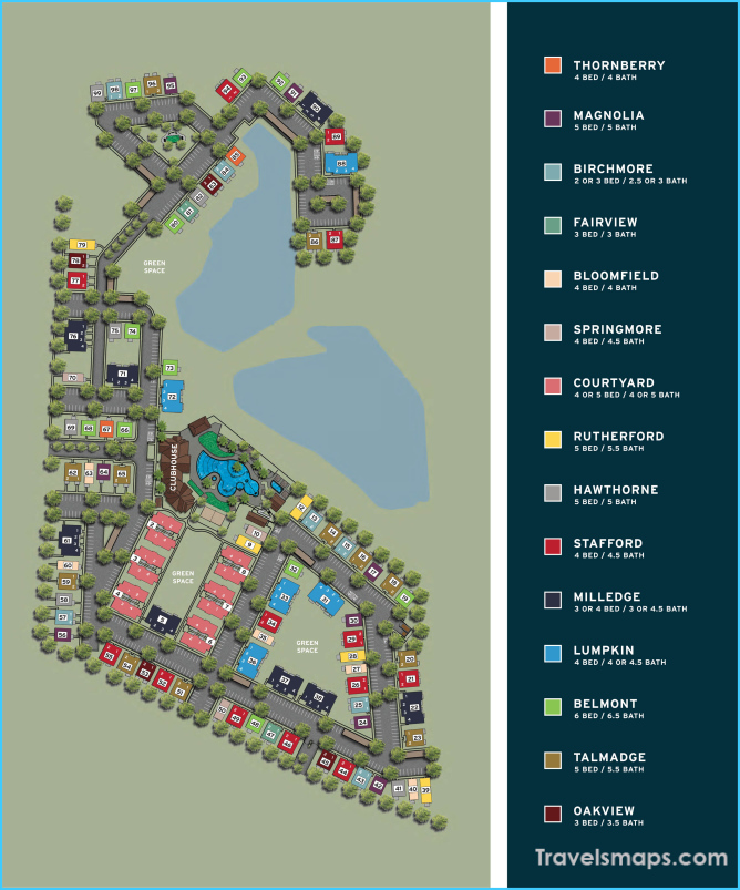 The Retreat at College Station Site Plan