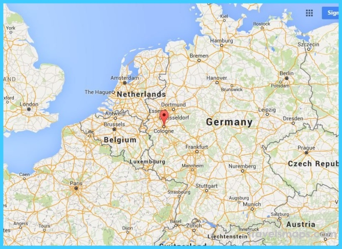 Where is Cologne Germany? - Cologne Germany Map - Map of ...