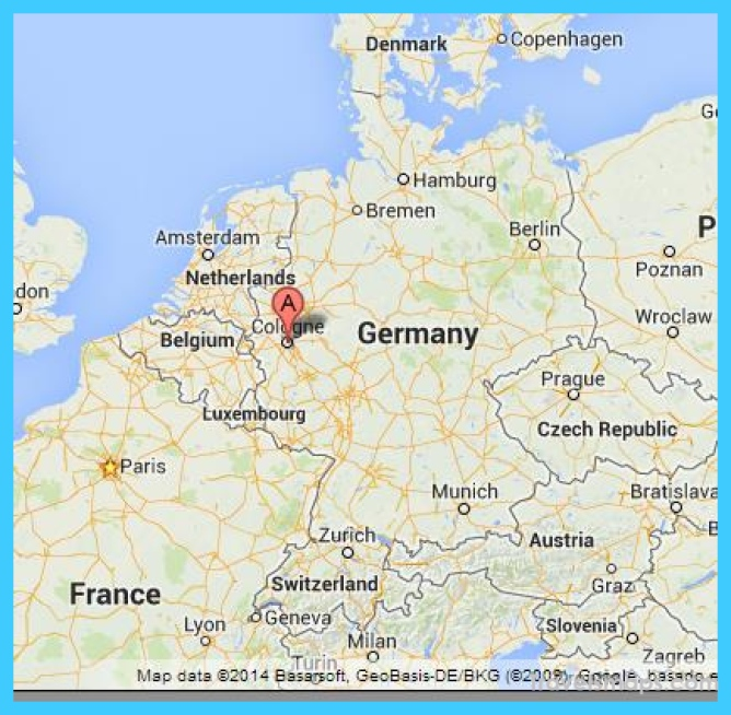 Where is Cologne Germany? - Cologne Germany Map - Map of Cologne ...