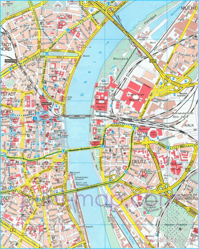Map Of Germany Showing Cologne.Where Is Cologne Germany Cologne Germany Map Map Of Cologne