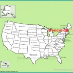 Concord location on the U.S. Map
