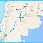 Driving Map Córdoba - Bariloche | Bariloche, Patagonia Argentina
