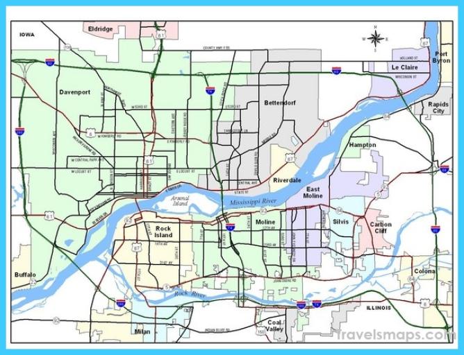 Where Is Davenport Davenport Map Map Of Davenport Travelsmaps