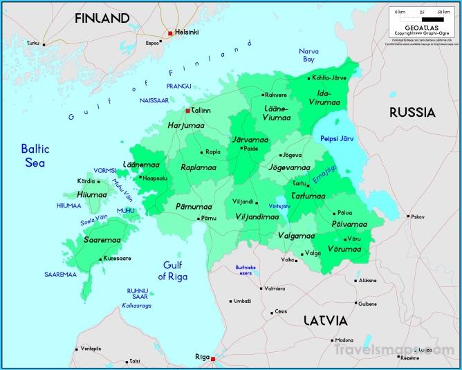 Where is Estonia? - Estonia Map - Map of Estonia ...