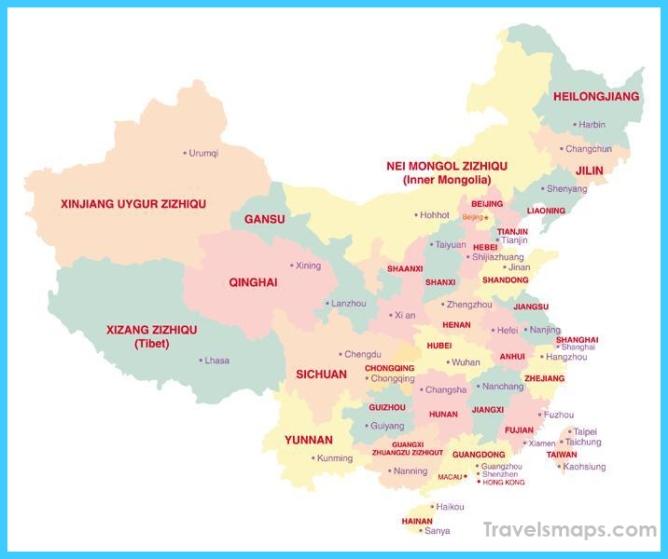 Where is Guangzhou China? - Guangzhou China Map - Map of ...