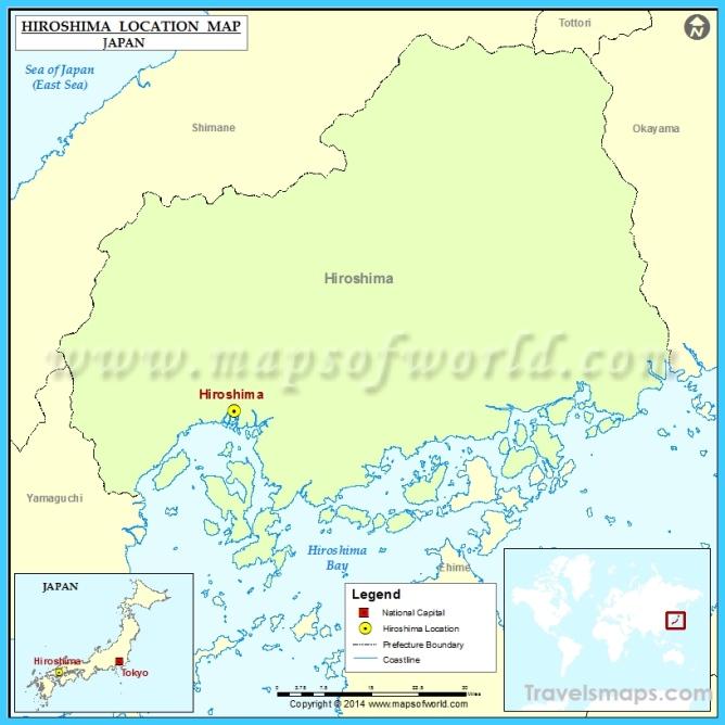 Where is Hiroshima Japan? - Hiroshima Japan Map - Map of Hiroshima ...
