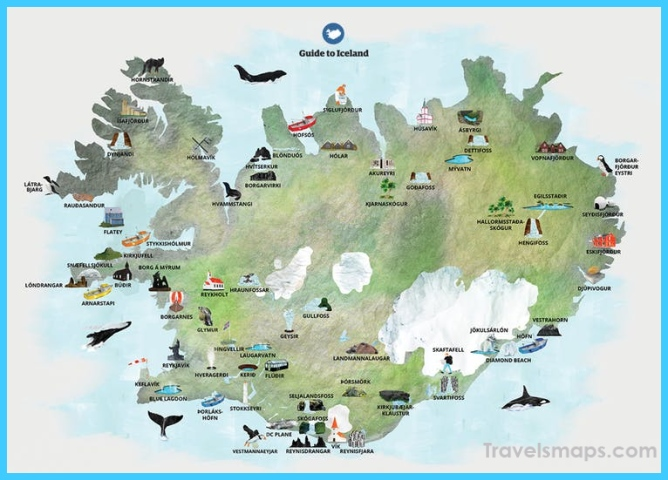 Maps of Iceland | Guide to Iceland