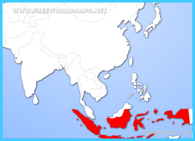 Where is Indonesia? - Indonesia Map - Map of Indonesia ...