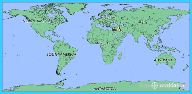 Where is Iraq? / Where is Iraq Located in The World