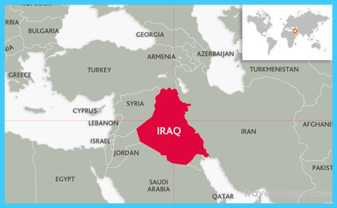 Where Is Iraq Iraq Map Map Of Iraq Travelsmaps Com