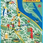 Jon Frickey - Map of Kiev #map #kiev #ukraine | map design