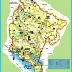Montenegro tourist map | Maps | Pinterest | Montenegro, Montenegro