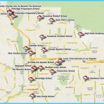 Map and List of Pasadena/San Gabriel Valley Private Schools