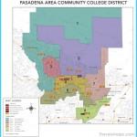 Pasadena Area Community College District Map
