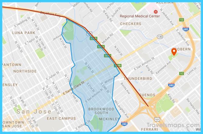 Map: San Jose flood evacuation zone and road closures