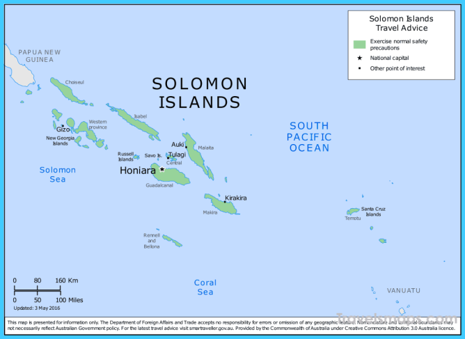 Where is Solomon Islands? - Solomon Islands Map - Map of