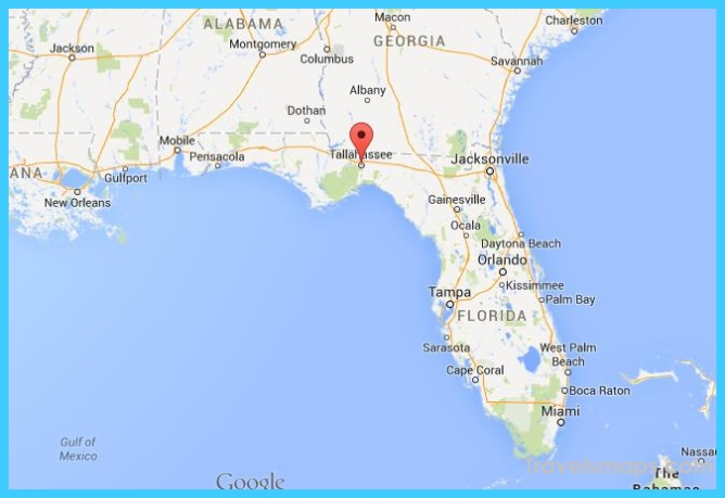 Where is Tallahassee? - Tallahassee Map - Map of Tallahassee ...