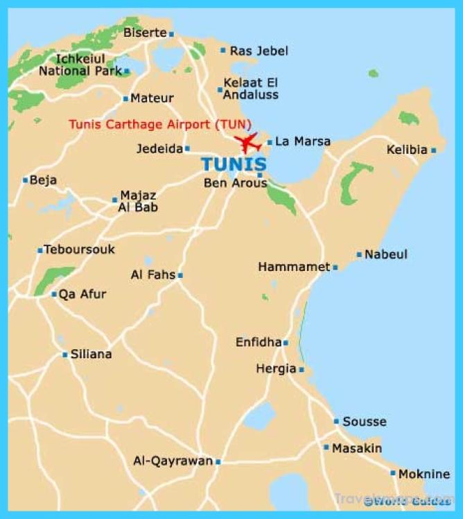 Where is Tunis Tunisia? - Tunis Tunisia Map - Map of Tunis Tunisia ...