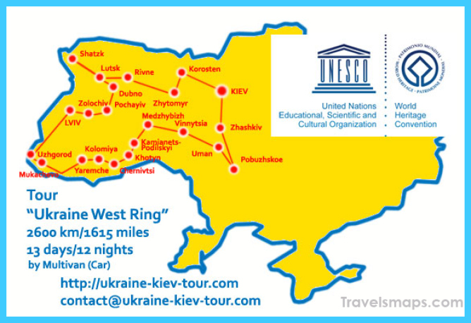 Where is Ukraine? - Ukraine Map - Map of Ukraine - TravelsMaps.Com ®