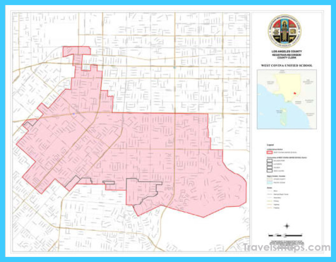 Boundaries - West Covina Unified School District