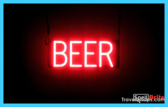 BEER Signs | SpellBrite LED
