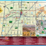 Attractions in Amarillo Texas Map